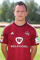 BILDET INNGÅR IKKE I FASTAVTALER<br /> <br /> Fotball<br /> Tyskland<br /> Foto: imago/Digitalsport<br /> NORWAY ONLY<br /> <br /> 06.07.2015 - Fussball - 2. Fussball-Bundesliga - Saison 2015 2016 - 1. FC Nürnberg Nuernberg FCN - Fototermin Fotoshooting Porträttermin Portraittermin - / JüRa - - Einzelfoto Kopfbild Porträt Portrait - Even Hovland (3, 1.FC Nürnberg / FCN )