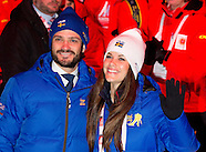 FALUN OPENINGS CEREMONIE Prince Carl Philip and fiancée Sofia Hellqvist