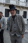 RICHARD STRANGE, opening of Paul Benney's ' Speaking in Tongues' church of San Galo, Venice Biennale, 10 May 2017