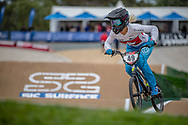 #49 (TUCHSCHERER Daina) CAN at Round 2 of the 2020 UCI BMX Supercross World Cup in Shepparton, Australia.