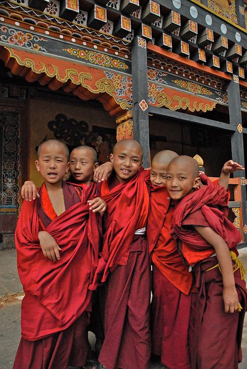 Child Monks, Bhutan