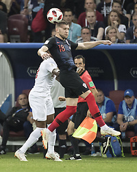 July 11, 2018 - Moscow, Russia - Moscow, Russia - July 11, 2018: Luzhniki Stadium, Croatia vs England, semifinals of the 2018 FIFA World Cup.  Final score Croatia 2, England 1 after overtime. (Credit Image: © Steven Limentani/ISIPhotos via ZUMA Wire)