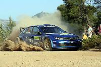 MOTORSPORT - WRC 2008 - ACROPOLIS RALLY - TATOI 29/05 TO 01/06/2008 -<br /> <br /> CHRIS ATKINSON (AUS) - STEPHANE PREVOT / SUBARU IMPREZA WRC - ACTION<br /> <br /> Norway only