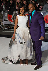 © licensed to London News Pictures. London, UK 10/01/2013. Kerry Washington and Jamie Foxx attending UK premiere of Django Unchained in Leicester Square, London. Photo credit: Tolga Akmen/LNP