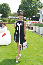 ROXANNE PALLETT at the Audi International Polo at Guards Polo Club, Windsor Great Park, Egham, Surrey on 26th July 2014.