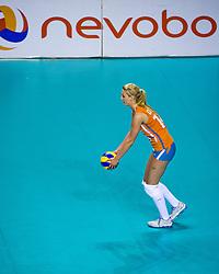 08-06-2012 VOLLEYBAL: EUROPEAN LEAGUE NEDERLAND - GRIEKENLAND: ALMERE<br /> Laura Dijkema NED<br /> ©2012-FotoHoogendoorn.nl / Peter Schalk