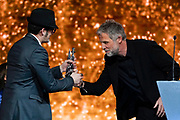 Brussels , 01/02/2020 : Les Magritte du Cinema . The Academie Andre Delvaux and the RTBF, producer and TV channel , present the 10th Ceremony of the Magritte Awards at the Square in Brussels . <br /> Pix : Olivier Masset-Depasse; Stephane Guillon<br /> Credit : Daina Le Lardic / Isopix