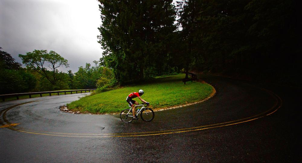 Bicycle race, Mt. Penn, Berks County, Pennsylvania