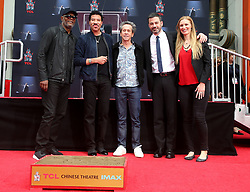 07 March 2018 - Hollywood, California - Samuel L Jackson, Lionel Richie, Brian Grazer and Jimmy Kimmel . Lionel Richie Hand and Footprint Ceremony held at TCL Chinese Theatre. Photo Credit: F. Sadou/AdMedia