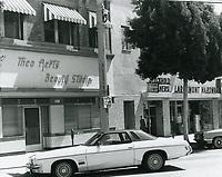 1977 Theo Aerts Beauty Studio on Larchmont Blvd.