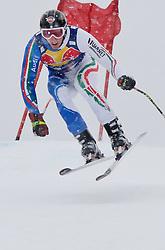20.01.2011, Hahnenkamm, Kitzbuehel, AUT, FIS World Cup Ski Alpin, Men, Training, im Bild // Siegmar Klotz (ITA) // during the men´s downhill training run at the FIS Alpine skiing World cup in Kitzbuehel, EXPA Pictures © 2011, PhotoCredit: EXPA/ S. Zangrando