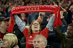 BRITAIN-LIVERPOOL-FOOTBALL-UEFA CHAMPIONS LEAGUE-LIVERPOOL VS FC BARCELONA..(190507) -- LIVERPOOL, May 7, 2019  Liverpool supporters celebrate after the UEFA Champions League Semi-Final second Leg match between Liverpool FC and FC Barcelona at Anfield in Liverpool, Britain on May 7, 2019. Liverpool won 4-3 on aggregate and reached the final. FOR EDITORIAL USE ONLY. NOT FOR SALE FOR MARKETING OR ADVERTISING CAMPAIGNS. NO USE WITH UNAUTHORIZED AUDIO, VIDEO, DATA, FIXTURE LISTS, CLUBLEAGUE LOGOS OR ''LIVE'' SERVICES. ONLINE IN-MATCH USE LIMITED TO 45 IMAGES, NO VIDEO EMULATION. NO USE IN BETTING, GAMES OR SINGLE CLUBLEAGUEPLAYER PUBLICATIONS. (Credit Image: © Xinhua via ZUMA Wire)