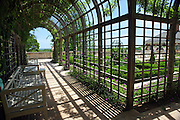 The view of the garden at the Albemarle Estate located in Albemarle County, Va. (Credit Image: © Andrew Shurtleff)..