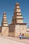 South America, Andes, Altiplano, Bolivia,  San Christobal, Iglesia
