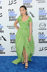 Lulu Wang at the 35th Annual Film Independent Spirit Awards held at the Santa Monica Beach in Santa Monica, USA on February 8, 2020.