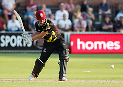 Somerset's James Hildreth<br /> <br /> Photographer Simon King/Replay Images<br /> <br /> Vitality Blast T20 - Round 1 - Somerset v Gloucestershire - Friday 6th July 2018 - Cooper Associates County Ground - Taunton<br /> <br /> World Copyright © Replay Images . All rights reserved. info@replayimages.co.uk - http://replayimages.co.uk