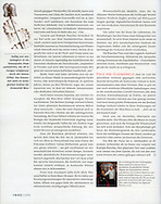 GEO Magazine (Germany), issue 12/2006, Photographs by Heidi & Hans-Juergen Koch/animal-affairs.com