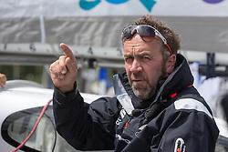 Tim Kroger (GER). Oman Sail's MOD70 Musandam races in the Eckernförde race at  Kiel week 2014, 21-06-2014, Kiel - Germany.
