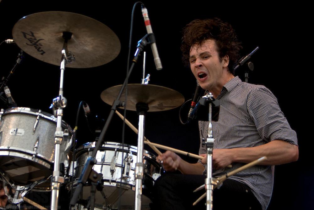 Das Pop (Matt Eccles), perform live at Becks Fusions 2008, Castlefields Outdoor Arena, Manchester, Greater Manchester, UK, 06/09/2008