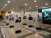 """Ausstellung mit Portraits von Veteranen aus dem 2. Weltkrieg im Museum des Großen Vaterländischen Krieges in Moskau. Das Museum befindet sich auf dem Berg """"Poklonnaja Gora"""".<br /> <br /> Exhibition with portraits of WW II veterans in the Museum of the Great Patriotic War in Moscow at Poklonnaya Gora (Bowing Hill)."""
