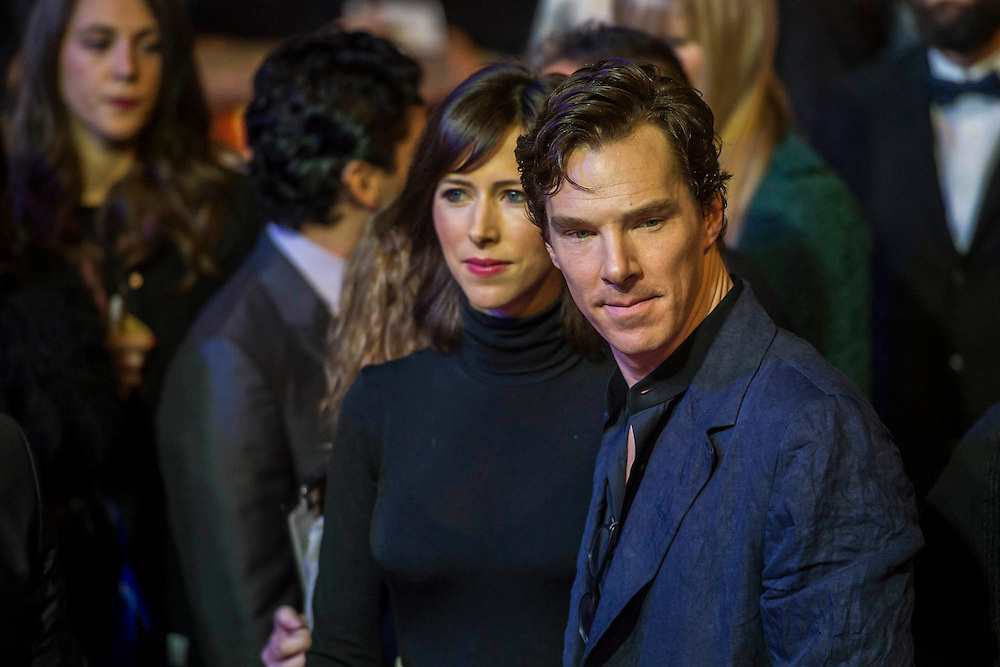 Benedict Cumberbatch - The European Premiere of STAR WARS: THE FORCE AWAKENS - Odeon, Empire and Vue Cinemas, Leicester Square, London.