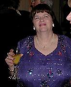 Anne Widdecombe. The British Book Awards. Hilton, London. 22 February 2001. © Copyright Photograph by Dafydd Jones 66 Stockwell Park Rd. London SW9 0DA Tel 020 7733 0108 www.dafjones.com