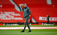 Football - 2019 / 2020 Premier League - Manchester United vs Southampton<br /> <br /> Ralph Hasenhuttl manager of Southampton  at Old Trafford<br /> <br /> COLORSPORT/LYNNE CAMERON