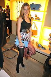 LYDIA FORTE at a reception in aid of Children in Crisis held at the Roger Vivier store, 188 Sloane Street, London on 19th March 2009.