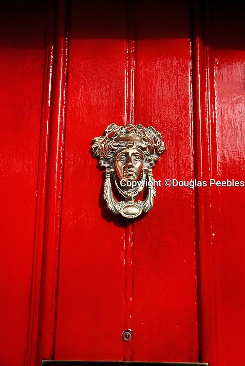 Red door, Dublin, Ireland, Europe
