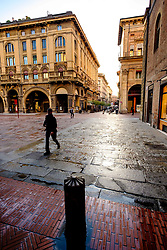 Early morning in the centre of Bologna, Italy<br /> <br /> (c) Andrew Wilson | Edinburgh Elite media
