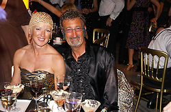 EDDIE & MARIE JORDAN at the Biba Ball in aid of Clic Sargeant held at the Victoria & Albert Museum, London on 11th May 2006.<br />