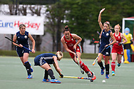 Belarus v Wales, EuroHockey 11 Women's championshp 2017 in Cardiff, South Wales , Wednesday 9th August 2017<br /> pic by Andrew Orchard