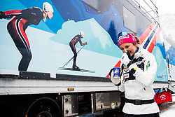 January 2, 2018 - Oberstdorf, GERMANY - 180102 Ingvild Flugstad ¯stberg of Norway after a training session during Tour de Ski on January 2, 2018 in Oberstdorf..Photo: Jon Olav Nesvold / BILDBYRN / kod JE / 160116 (Credit Image: © Jon Olav Nesvold/Bildbyran via ZUMA Wire)