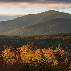 """The Horn"" as seen from Reddington Township in Maine's High Peaks Region. Saddleback Mountain."
