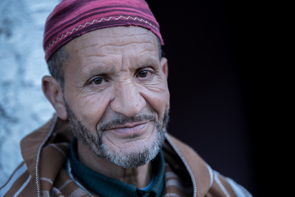 5 January 2018, Tizi Oussem, Morocco: Hussein runs a small guesthouse in the village of Tizi Oussem, at an altitude of 1,850 meters in the Azaden Valley in Morocco. While Hussein's guesthouse is only five years old, hospitality in the village runs back a long time, and visitors have been welcomed to stay at guesthouses here for at least 80-90 years.