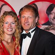 NLD/Scheveningen/20130909 -  Filmpremiere Smoorverliefd, Steven de Jong en partner …..