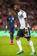Germany (16) Rüdiger during the Friendly match between England and Germany at Wembley Stadium, London, England on 10 November 2017. Photo by Sebastian Frej.