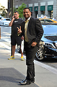 Sept. 4, 2014 - New York City, NY, United States - <br /> <br /> Alfonso Ribeiro from Season 19 of 'Dancing with the Stars' arriving at a downtown hotel on September 4 2014 in New York City <br /> ©Exclusivepix