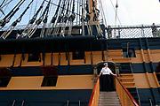 A Wren aboard HMS Victory