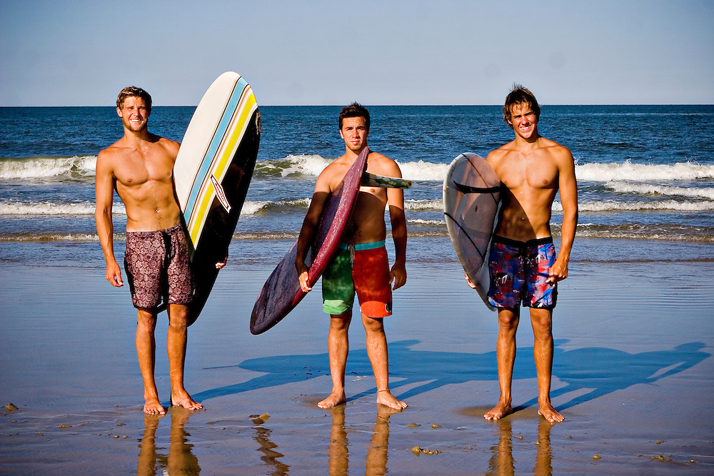 July 17, 2011; Virginia Beach, VA, USA; (right to left) Wills Francis, Chris Conley and Wesley Francis. Mandatory Credit: Peter J. Casey