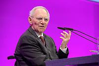06 JAN 2020, KOELN/GERMANY:<br /> Wolfgang Schaeuble, CDU, Bundestagspraesident, haelt eien Rede, dbb Jahrestagung, Koeln Messe<br /> IMAGE: 20200106-01-175<br /> KEYWORDS: Wolfgang Schäuble