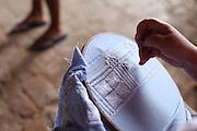 Caninde do Sao Francisco_SE, Brasil.<br /> <br /> Imagens do vale do rio Sao Francisco em Caninde do Sao Francisco, Sergipe. Na foto renda de agulha.<br /> <br /> Images of the Sao Francisco river valley in Caninde do Sao Francisco, Sergipe. In this photo crafts.<br /> <br /> Foto: JOAO MARCOS ROSA / NITRO