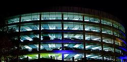 Les Carmes multi-storey car park at night.  Carmes district of Toulouse, France<br /> <br /> (c) Andrew Wilson | Edinburgh Elite media