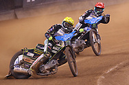 Martin Vaculik during the 2019 Adrian Flux British FIM Speedway Grand Prix at the Principality Stadium, Cardiff, Wales on 21 September 2019.