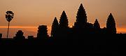 Angkor Wat temple at dawn (Cambodia)