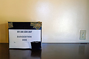 A suggestion box at one of the government buildings in Maseru, Lesotho
