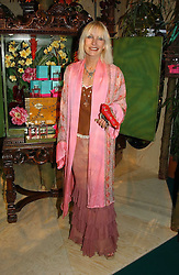 VIRGINIA BATES at a party to celebrate the launch of the new Matthew Williamson fragrance held at Harvey Nichols, Knightsbridge, London on 14th June 2005.<br /><br />NON EXCLUSIVE - WORLD RIGHTS