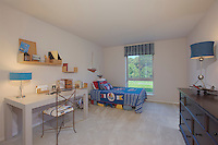 Westwind Annapolis Apartments interior image of Bedroom at model unit by Jeffrey Sauers of Commercial Photographics