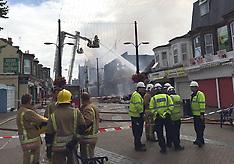 UK: Regent Superbowl blaze