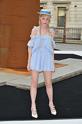 PETITE MELLER at the Royal Academy of Arts Summer Exhibition Preview Party at The Royal Academy of Arts, Burlington House, Piccadilly, London on 7th June 2016.